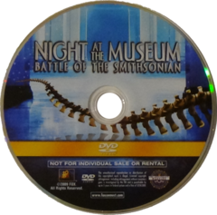 Night at the Museum: Battle of the Smithsonian [DVD]
